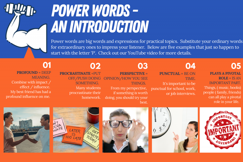 POWER WORDS 101 ( introduction)